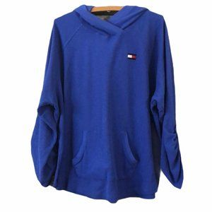 Tommy Hilfiger Popover Blue Jacket Size 2X